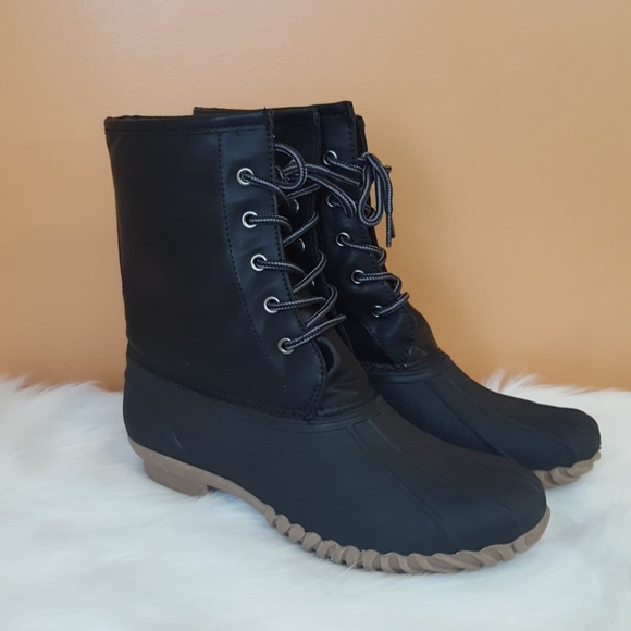 Nwot Blue Suedeshoes Duck Boots